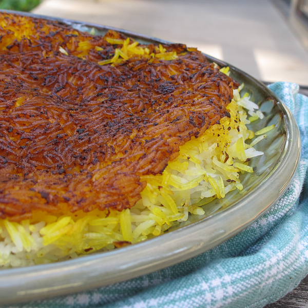 crispy persian rice