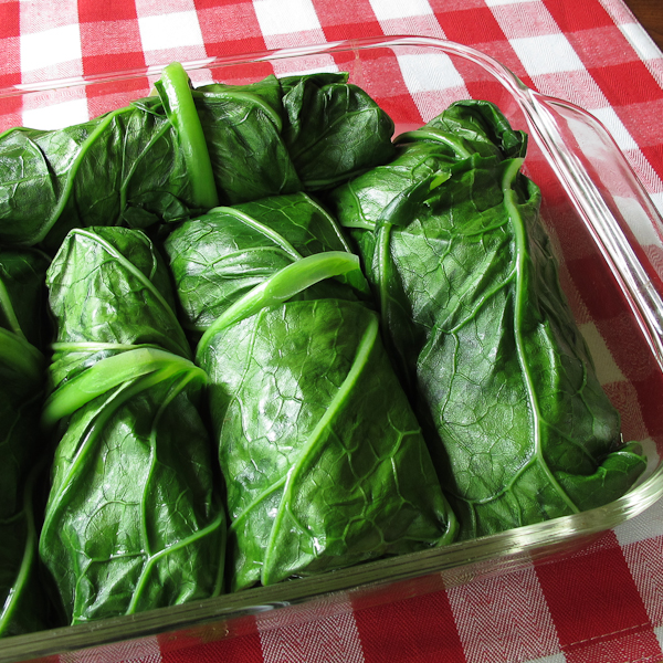 Easy recipes for collards