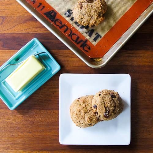 maple date scones