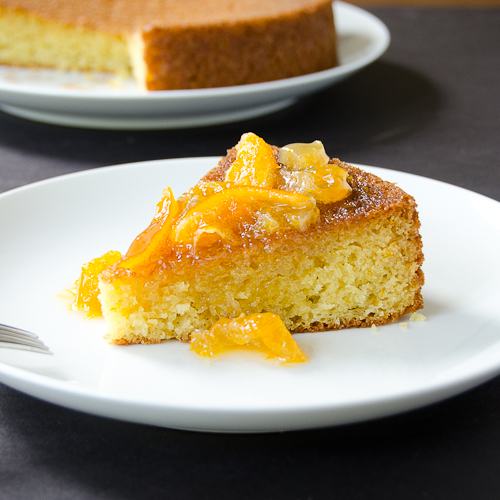 olive oil cake with clementine marmalade 3