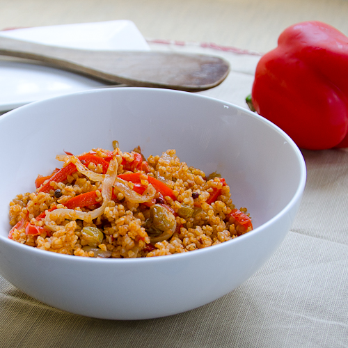 bulghur pilaf from plenty