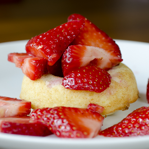 strawberry shortcake doughnut