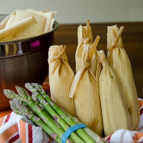 asparagus tamales