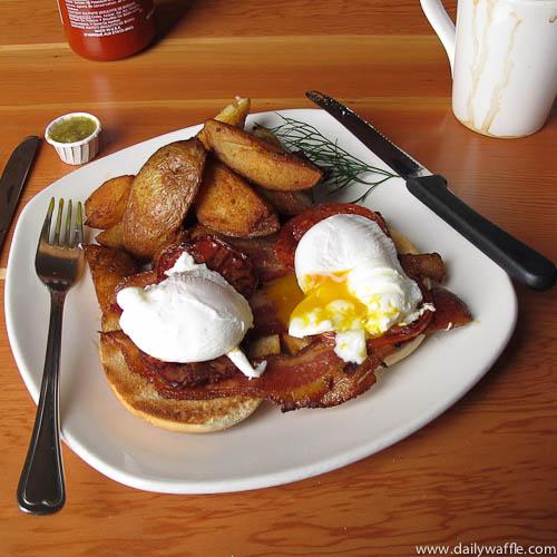 blue fox cafe eggs blackstone victoria bc