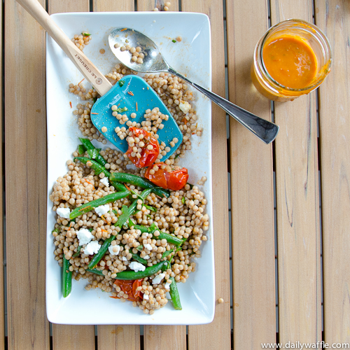 israeli couscous after dinner