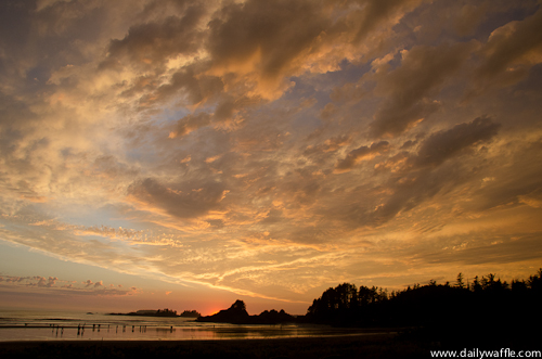 tofino sunset big sky