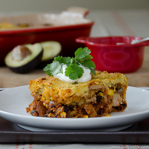 Almost Grandma's Tamale Pie