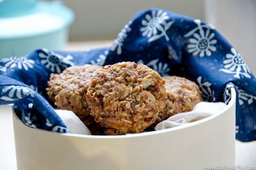 Fit for a Cookie Craving: Date Walnut Spice Cookies - DailyWaffle