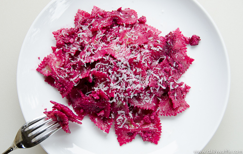 roasted beet pesto | dailywaffle
