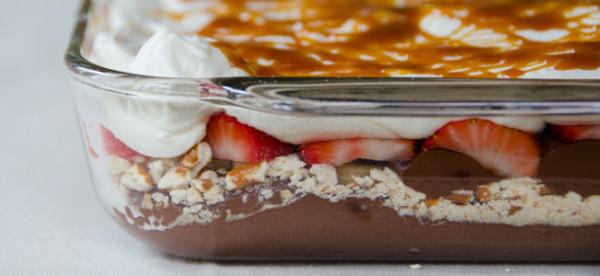 seven layer dessert dip | dailywaffle