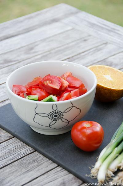 hanalei tomatoes | dailywaffle