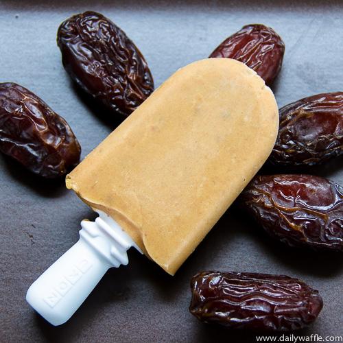 Zoku Popsicle Maker: Banana Date Shake - DailyWaffle