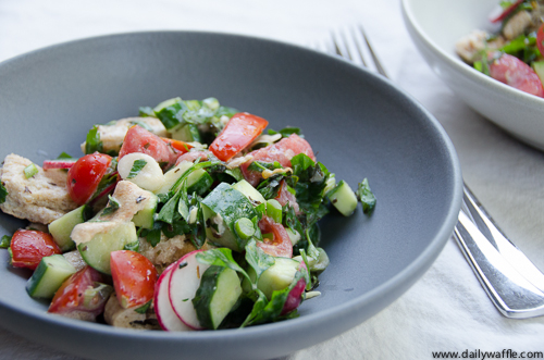 Tasting Jerusalem: With Naama's Fattoush, It's All About the Details ...
