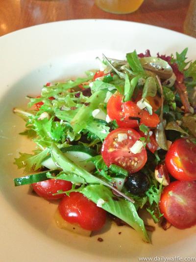 Hank's Island Salad | dailywaffle