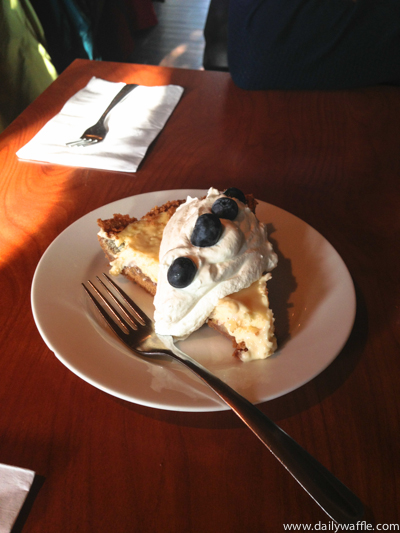 Hank's ucluelet key lime pie| dailywaffle