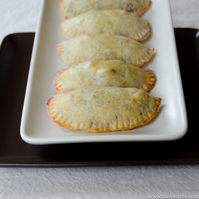 Back-to-School Black Bean & Sweet Potato Empanadas | DailyWaffle
