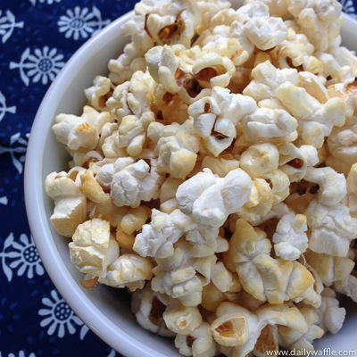 kettle corn| dailywaffle