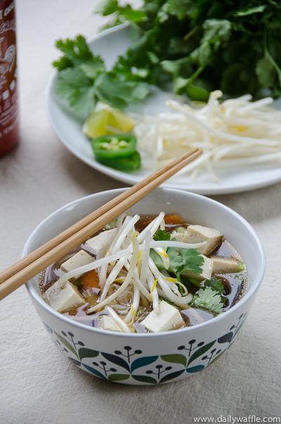pho in the slow cooker| dailywaffle