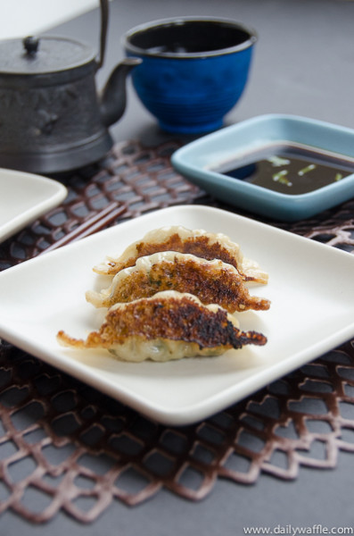 Gyoza from Japanese Soul Cooking| dailywaffle
