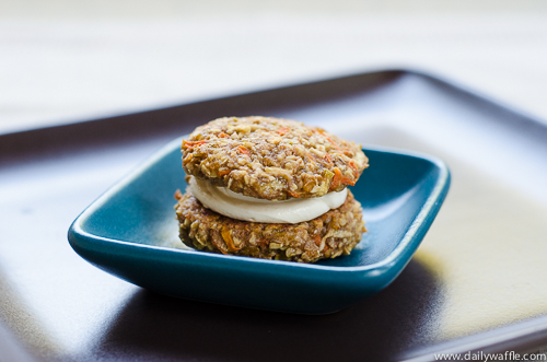 carrot cake cookies | dailywaffle