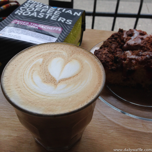 revolver coffee latte | dailywaffle