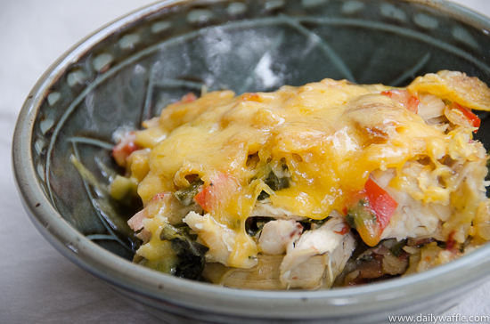 king ranch casserole| dailywaffle