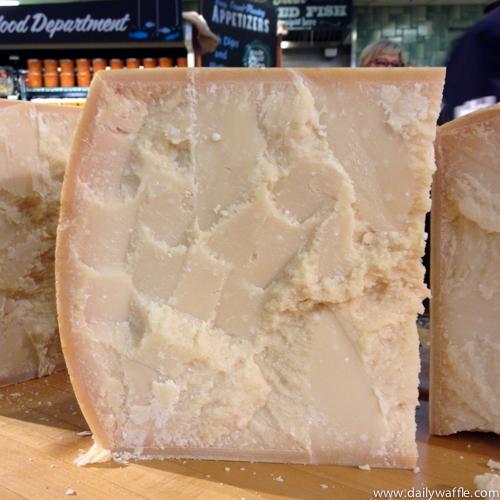 parmigiano reggiano cut| dailywaffle