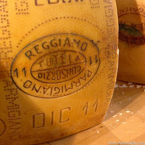 parmigiano reggiano | dailywaffle