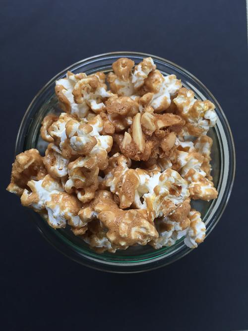 caramel corn | dailywaffle