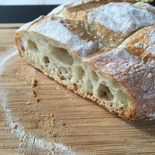 artisan bread in 5 sliced | dailywaffle