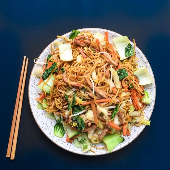 pork chow mein| dailywaffle
