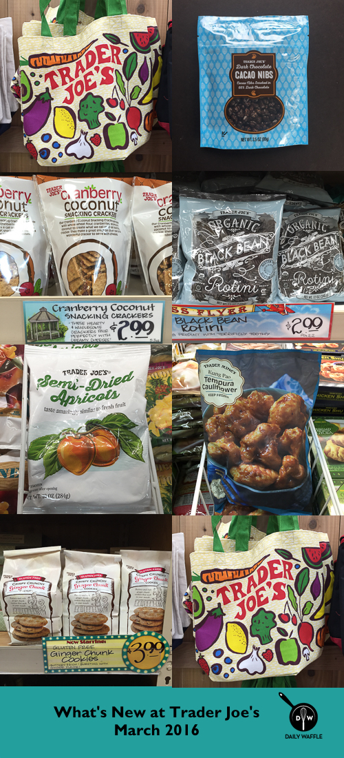 What's New at Trader Joe's March 2016