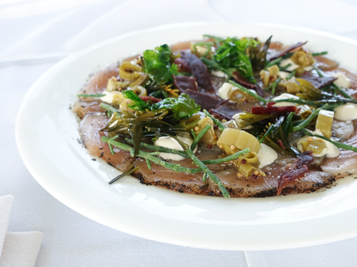 feast tofino long table cured albacore|dailywaffle