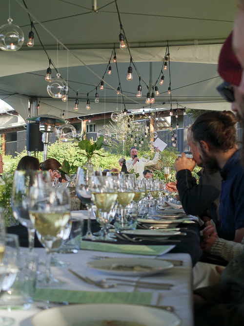feast tofino long table opening|dailywaffle