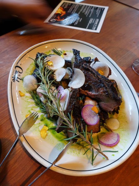 around the fire_lamb shoulder chops with rosemary| dailywaffle