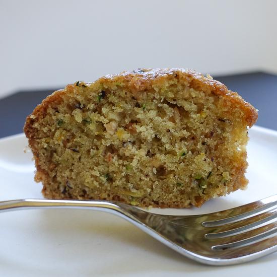 zucchini hazelnut tea cake| dailywaffle
