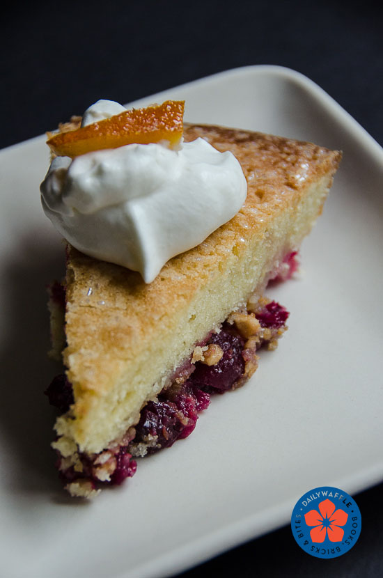 Nantucket Cranberry Pie – It's Really a Cake – DailyWaffle