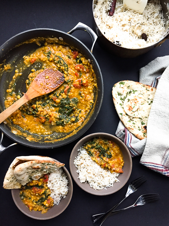 spicy-dhal-with-tomatoes-and-swiss-chard-dailywaffle