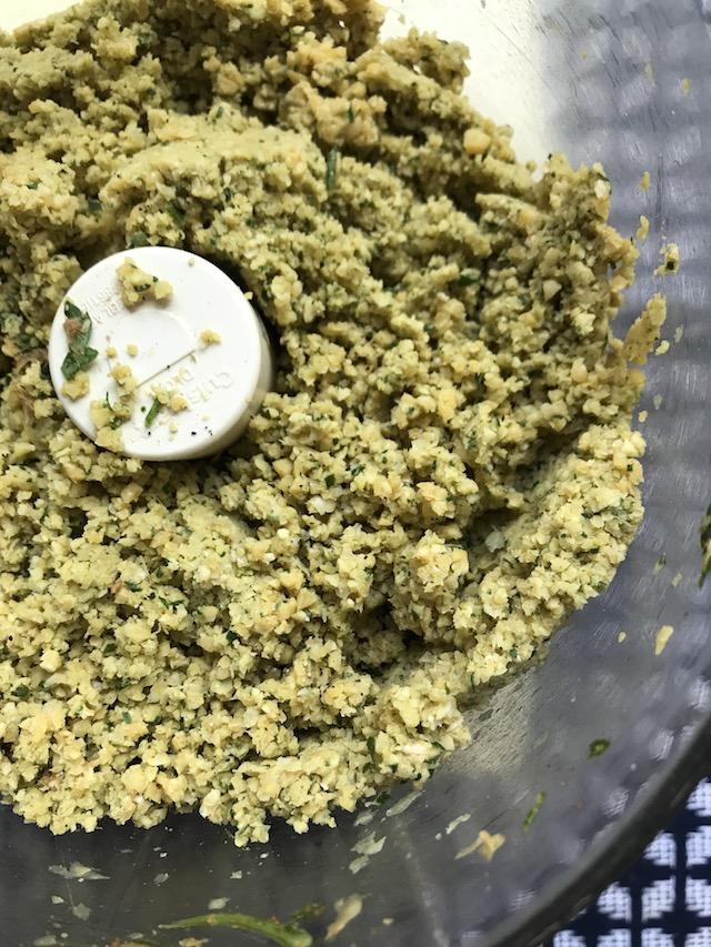 falafel ingredients ground