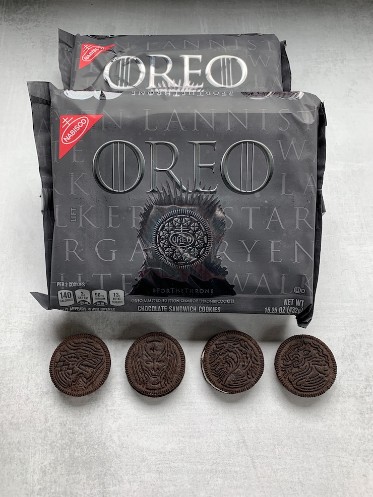 Game Of Thrones Oreos Are In Stores Now Dailywaffle