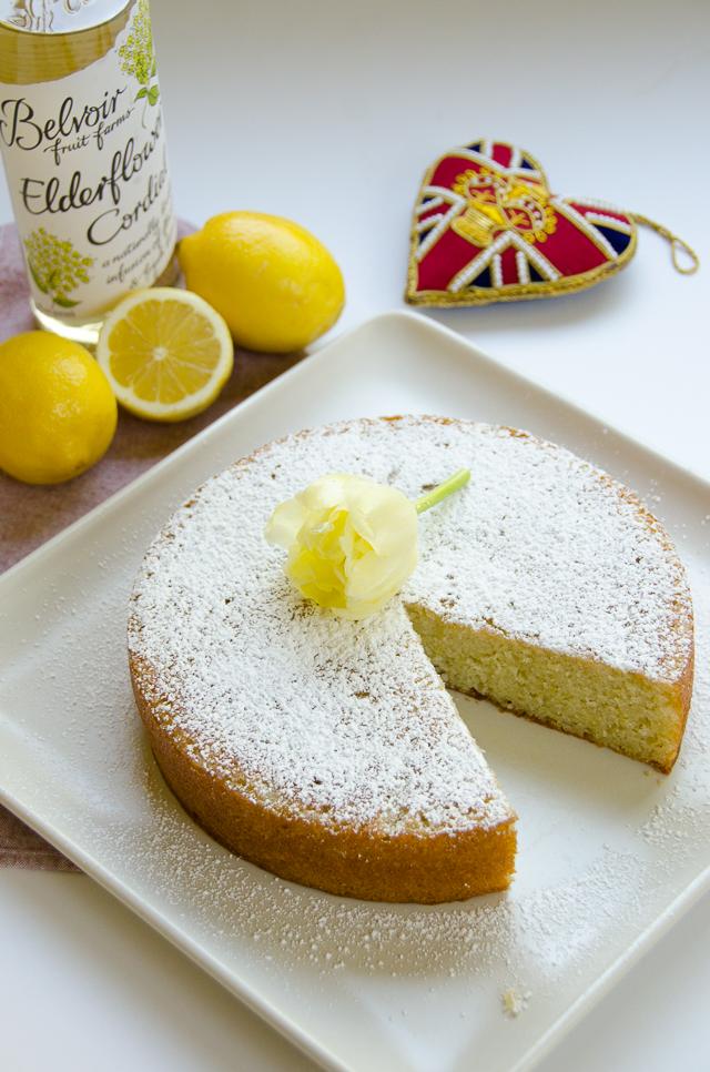 The Easy Way To Make Lemon Elderflower Cake For The Royal